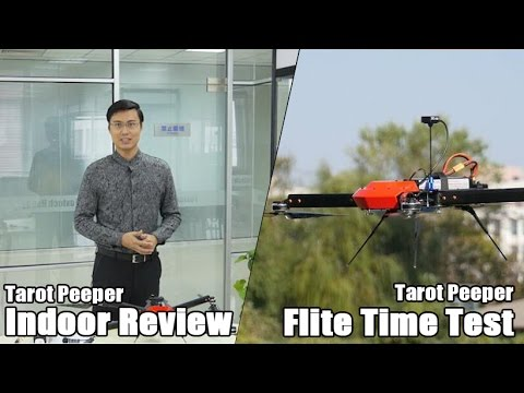 Tarot Peeper Review and Flight Time Test by Foxtech