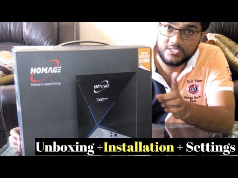 How To Install Homage Solar Inverter UPS for Home and Office Use (Unboxing UPS) - Urdu/Hindi