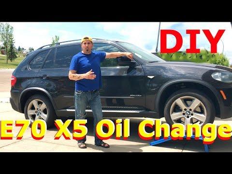 BMW X5 E70 35D Oil Service DIY  -  How Much Money I Saved