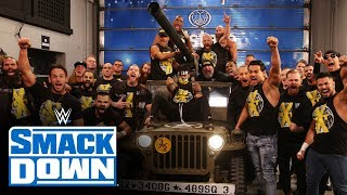 Triple H, Shawn Michaels & Road Dogg ride Team NXT into battle: SmackDown, Nov. 22, 2019