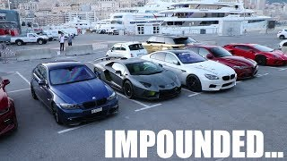 The Supercars of the Monaco Police Impound Lot