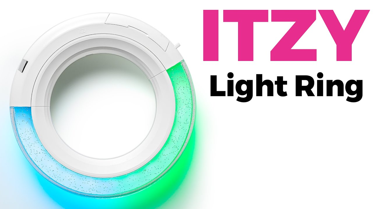 Unboxing ITZY Light Ring Official Lightstick / Quick Look - YouTube