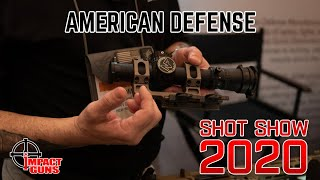 New From American Defense - SHOT Show 2020