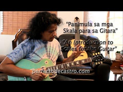 PDC-TV: Panimula sa mga Skala para sa Gitara Filipino with English subtitles