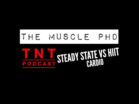The Muscle PhD Dr. Jacob Wilson Featured on TNT Podcast Steady State Cardio Vs HIIT Cardio