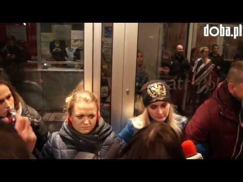 Protest Przed Teatrem Polskim We Wrocławiu