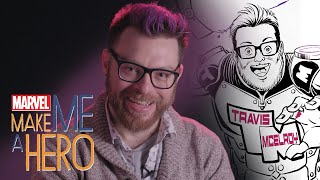 Travis McElroy | Marvel Make Me a Hero