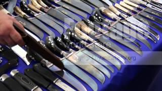 Ножи Булат Домаск Ворсма(купить исходный видеоматериал: http://minimaltv.org/viditem.php?id=1757 правообладатель: http://minimalTV.org УралЮвелир - Весна -..., 2013-04-15T14:07:14.000Z)