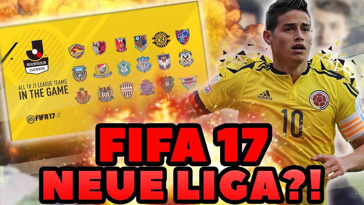 Fifa 17 Neue Ligen