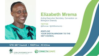 Elizabeth Mrema at GEF Live - Your digital window to the 57th Council