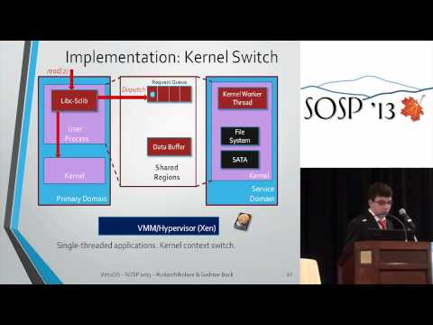 VirtuOS: an operating system with kernel virtualization