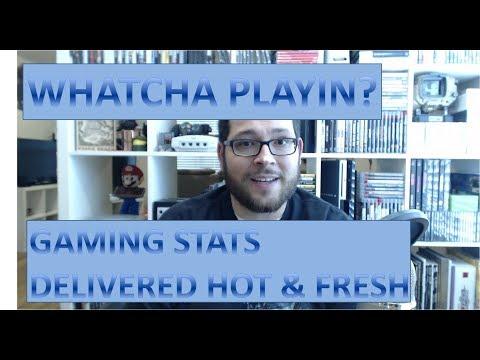 Whatcha Playin? - Game Statistics & Metrics for the Week (August 4, 2017)