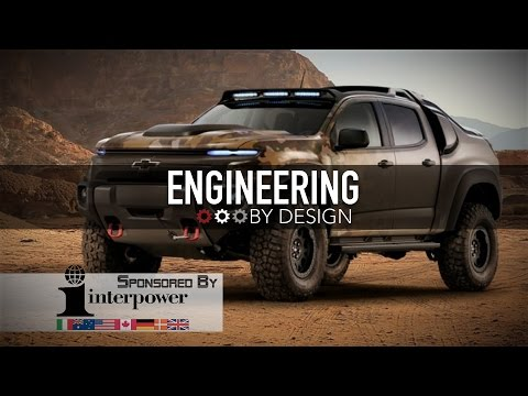 Engineering By Design: GM Turns Chevy Colorado Into Fuel Cell Military Vehicle