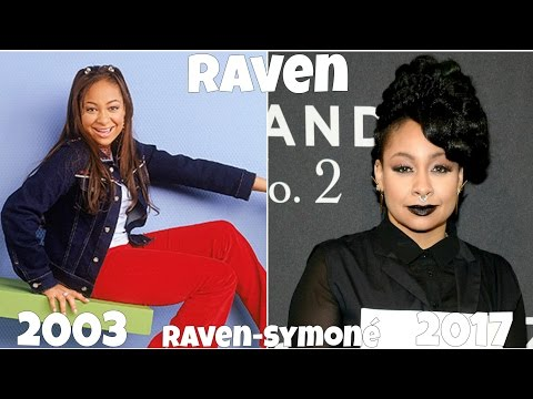That's So Raven Then And Now 2017