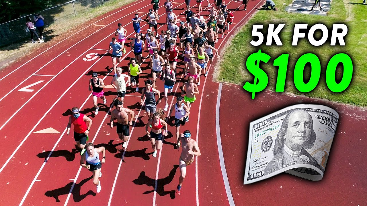 INCREDIBLE 5K RACE vs. Subscribers, Winner Gets $100 CASH