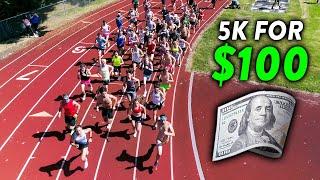 INCREDIBLE 5K RACE vs. Subscribers, Winner Gets $100 CASH