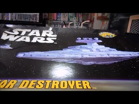 Aftermarket resin parts for the MPC/AMT Star Destroyer plastic model kit