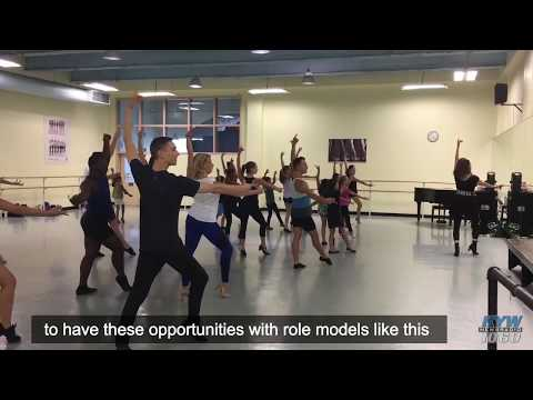 Young Dancers Learn Ins And Outs Of Broadway From 'Wicked' Performer