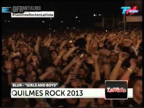 Blur - Quilmes Rock Argentina 2013