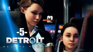 Zagrajmy w Detroit Become Human #5 - POSZUKIWANIA NOCLEGU - Polski gameplay - 4K