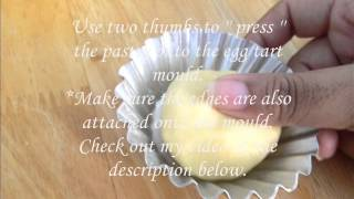 How to make Egg tart ( Hong Kong Style )