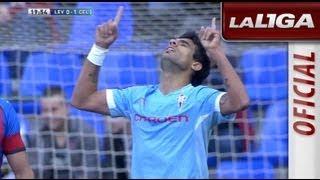 Gol de Augusto Fernández (0-1) en el Levante UD - Celta de Vigo  - HD