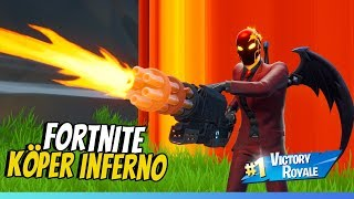 PLAYING TACTICALLY & WINS! * NEW INFERNO STARTER PACK IN FORTNITE *