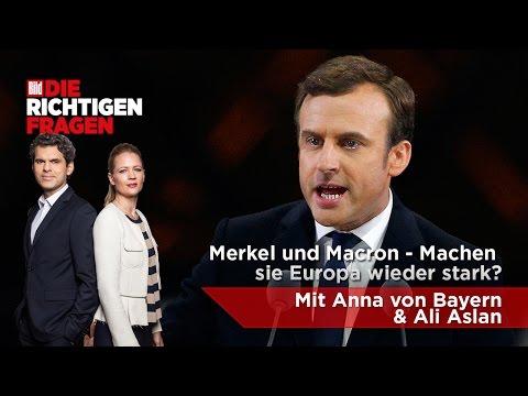 """Merkel und Macron - Machen sie Europa wieder stark? BILD stellt """"Die richtigen Fragen""""!"""