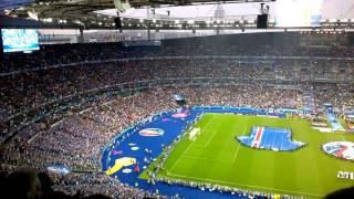 Anthem France - Iceland Euro 2016