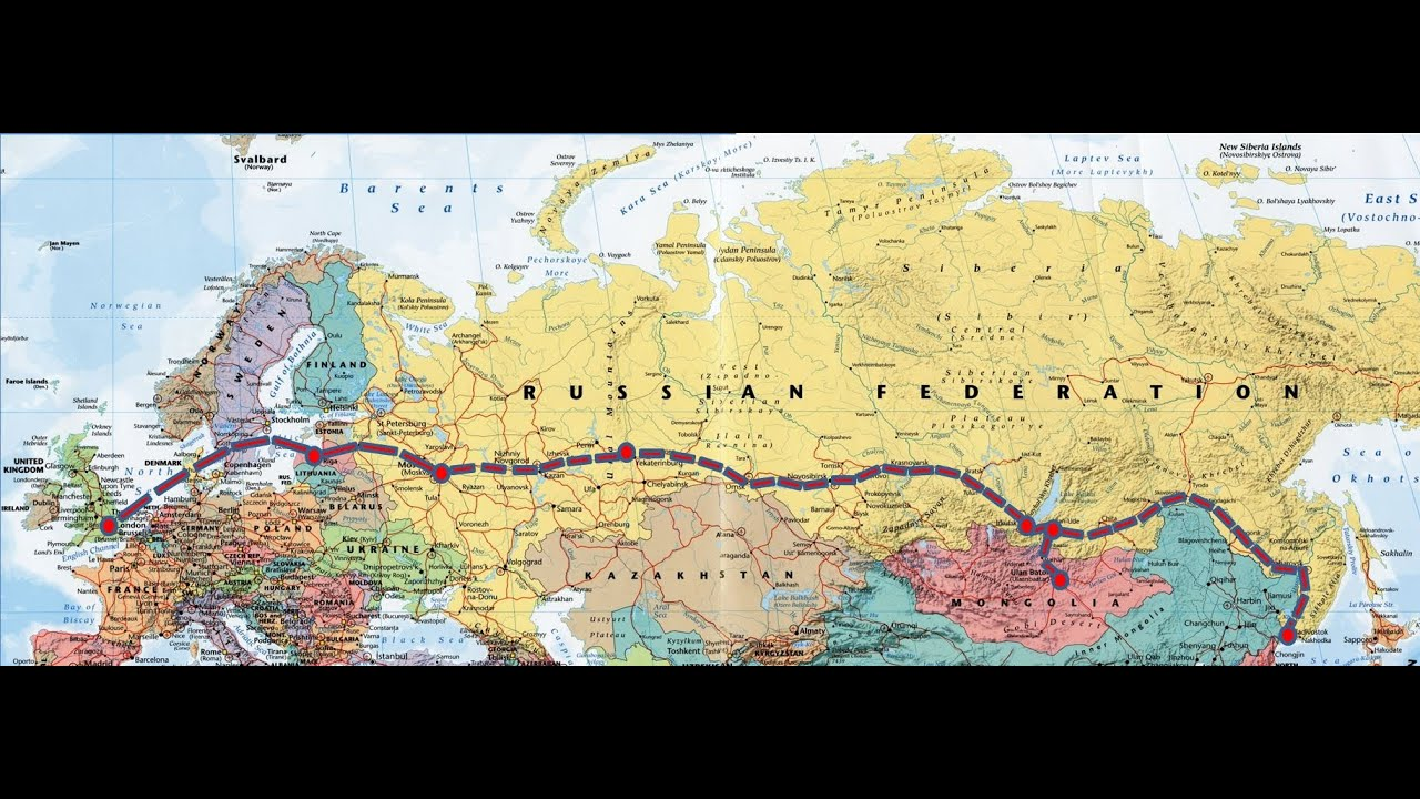 The route Vladivostok - Moscow: by train - more interesting 83