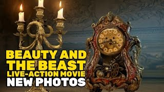 """flushyoutube.com-New """"Beauty and the Beast"""" photos reveal Prince Adam, Lumiere and Cogsworth, and Gaston's tavern!"""