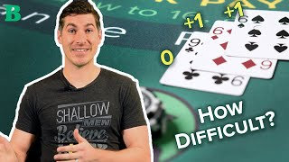 How Difficult is Card Counting?