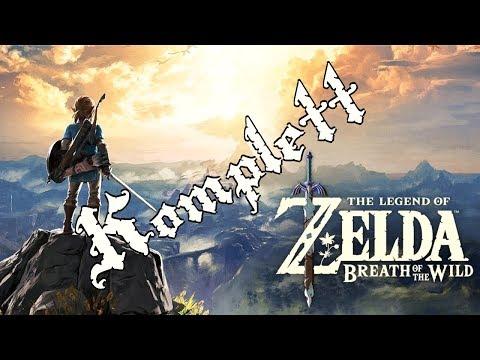 The Legend of Zelda Breath of The Wild Story komplett am Stück