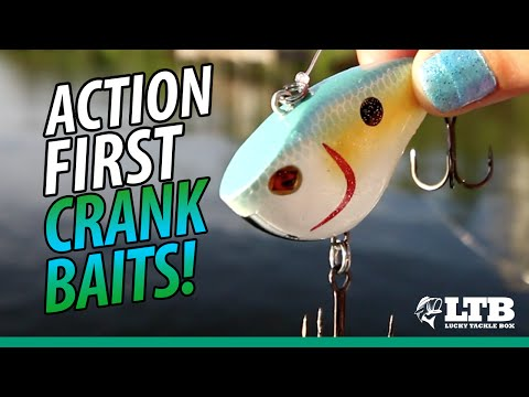 Action First With Sebile Crankbaits | Lucky Tackle Box Tips