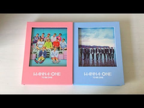 Free Download ♡unboxing Wanna One 워너원 1st Mini Album 1x1=1 To Be One (pink & Sky Ver.)♡ Mp3 dan Mp4