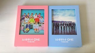 Video ♡Unboxing Wanna One 워너원 1st Mini Album 1x1=1 To Be One (Pink & Sky Ver.)♡ download MP3, 3GP, MP4, WEBM, AVI, FLV Desember 2017