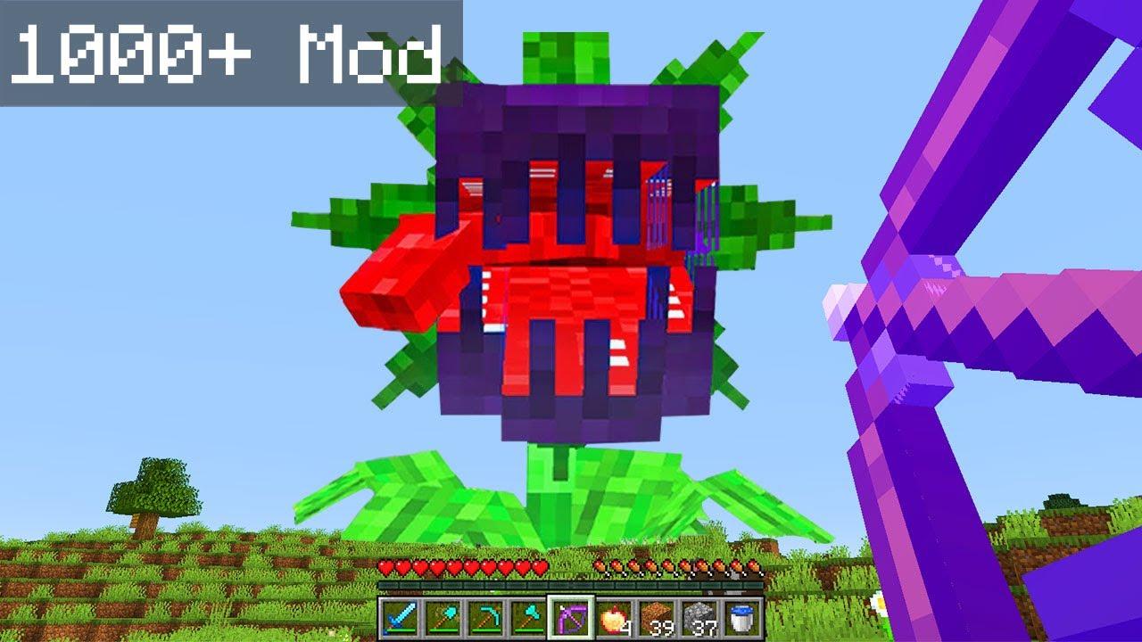 minecraft'a 1000 tane mod yükledim...