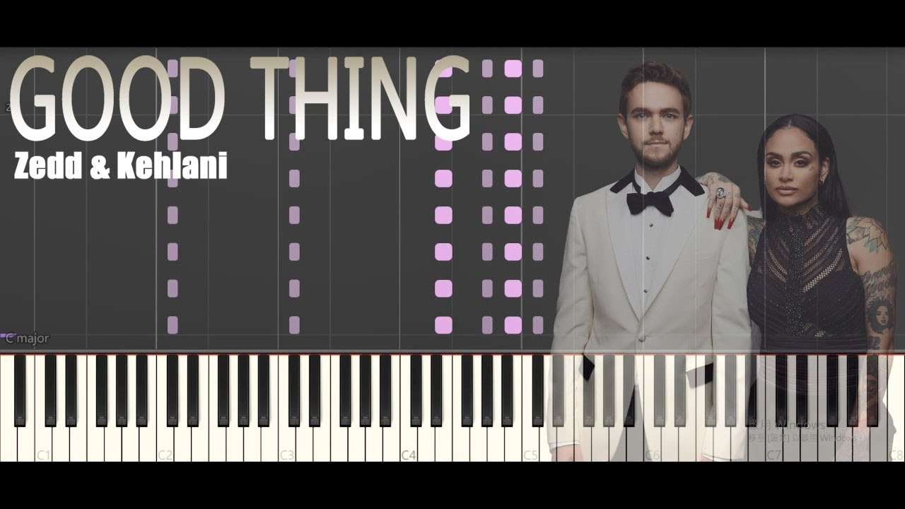 【Good Thing】by Zedd & Kehlani, the Insane Cover Has the Most Notes (Tutorial) |  pianocatwannafl