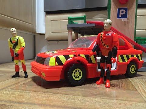 The Incredible Crash Dummies Tyco Toys Crash Test Dummies Car