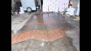 видео Гранитные и мраморные фонтаны, мраморная крошка