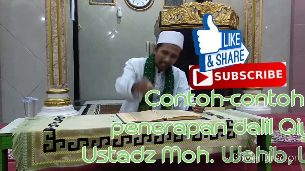 Contoh Contoh Penerapan Dalil Qiyas Youtube