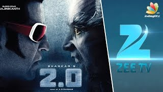 Rajinikanth's Robot 2.0 Satellite Rights sold to Zee TV for Rs 110 crore