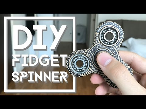 Thumbnail: DIY Fidget Spinner Toy | NutBulb