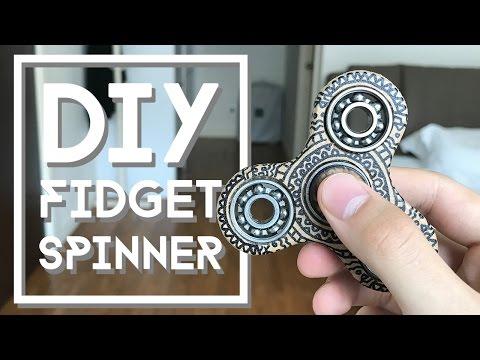 DIY Fidget Spinner Toy | NutBulb