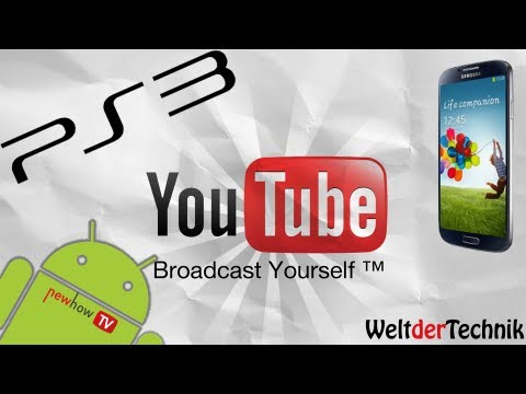 ps3 youtube app steuern mit android deutsch hd youtube. Black Bedroom Furniture Sets. Home Design Ideas