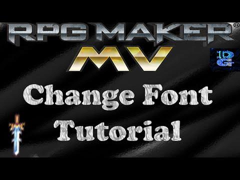 RPG Maker MV Change Fonts Tutorial