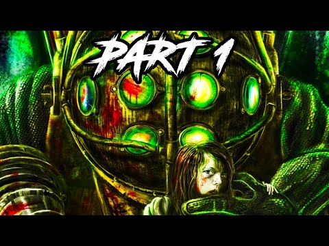 Bioshock The Collection Gameplay Walkthrough Part 1 - REMASTERED FULL GAME (1080p 60fps PS4/XB1)