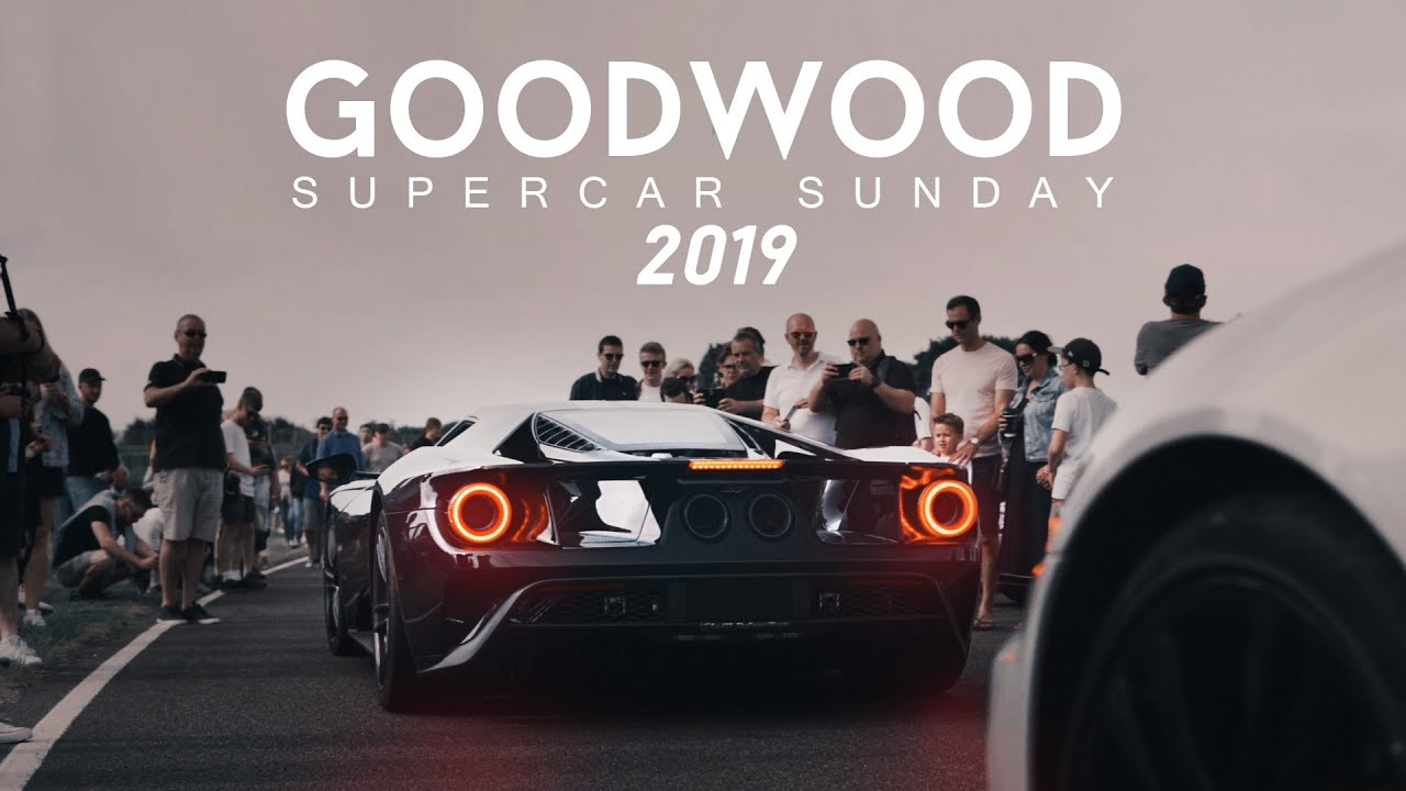 Goodwood Supercar Sunday 2019 , Ferrari, Lamborghini, Porsche and more show  up to this amazing event