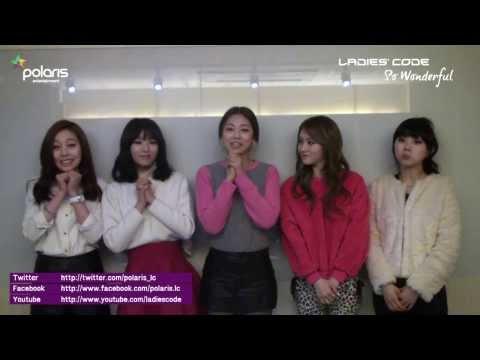 LADIES'CODE 'So Wonderful' Official Greeting (JAPANESE)