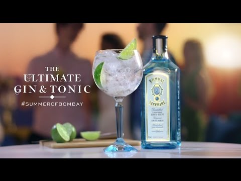 Summer of Bombay: Ultimate Gin & Tonic